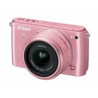 Walmart: Nikon Pink 1 S1 Compact System Digital Camera with 10.1 Megapixels and 11-27.5mm Lens Included