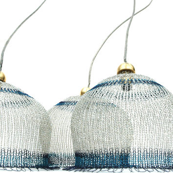 Wire Crochet Handmade Icy Lampshade  - Home Design