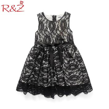2017 Summer New Style Children clothes girls beautiful Lace Dress Quality Baby Girls Dress Teenager Kids Dress For age 3-10