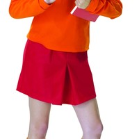 Adult Velma Costume, Scooby-Doo Collection