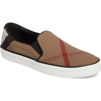 Burberry Gauden Slip-On Sneaker (Women) | Nordstrom