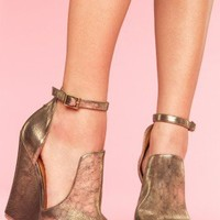 Thelma Platform Wedge - NASTY GAL