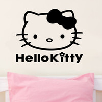 Hello Kitty Inspired Wall Decal Sticker Art Mural