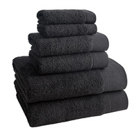 Napa Towels  | Set of 6 | Beluga
