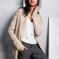 Shawl-collar Cardigan Sweater - A Kiss of Cashmere - Victoria's Secret