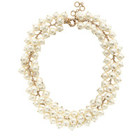 J.Crew Womens Pearl Cluster Necklace