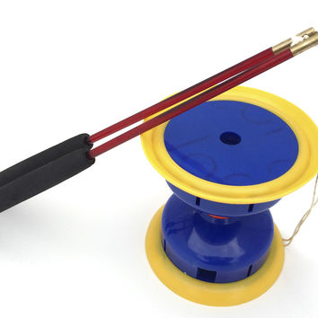 Viahart Onyx 5 Ball Bearing Diabolo Chinese Yoyo With Handsticks