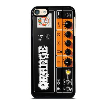 ORANGE GUITAR BASS AMP HEAD iPod 4 5 6 Case