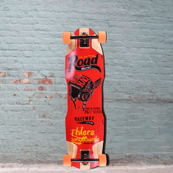 Road Warrior 36 inch Downhill Freeride Longboard from Ehlers - Complete