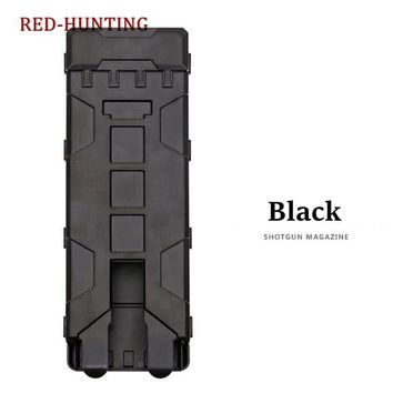 Hunting Accessories 10 Rounds 12GA 12 Gauge Ammo Shells Tactical Combat Magazine Pouches Molle Box
