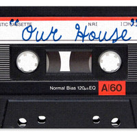 """OUR HOUSE"" CASSETTE TAPE DOORMAT"