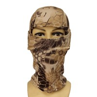 5 Color Tight Multicam Camo Balaclava Tactical Airsoft Hunting Outdoor Paintball Motorcycle Ski Cycling Protect Full Face Mask