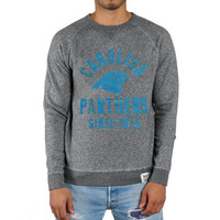 Carolina Panthers Junk Food Formation Crew Sweatshirt – Gray