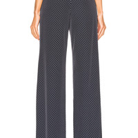 Alexis Lolette Pant in Navy Dot | FWRD