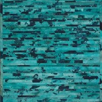Marquis Cowhide LUM17 Turquoise Rug | Contemporary Rugs