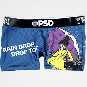 PSD x YRN Raindrop Blue Shorties | Zumiez