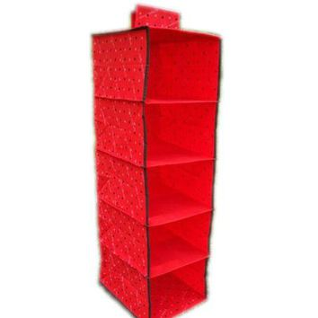 Wardrobe Storage Unit Sweater Organiser Cupboard Clothes Storage Organiser