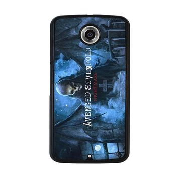 avenged sevenfold nexus 6 case cover  number 1
