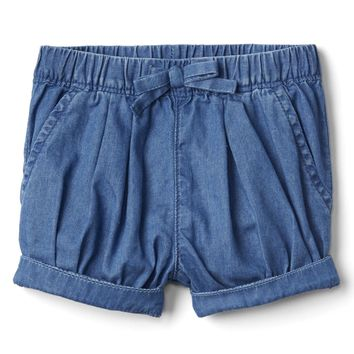 Chambray bubble short | Gap