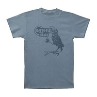 Grateful Dead Men's  Birdsong T-shirt Blue Rockabilia