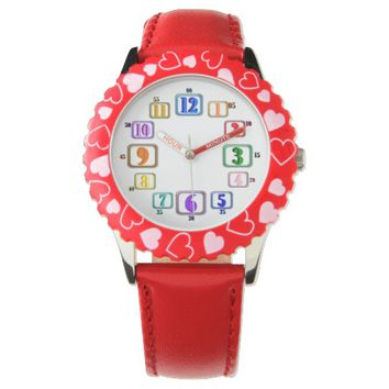 Colorful Numbers Time Piece Watch