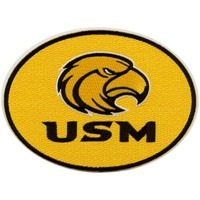 Southern Miss Golden Eagles Big Peel & Stick Patch
