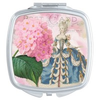 Marie Antoinette Square Compact Mirror