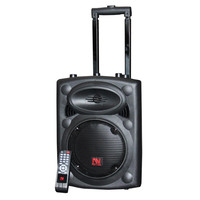 Nutek Portable Tailgater Speaker with Bluetooth Wireless Connection