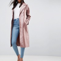 ASOS Satin Mac at asos.com