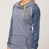 O'neill 365 Edgewater Hoodie Lt Pacific Blue Heather  In Sizes