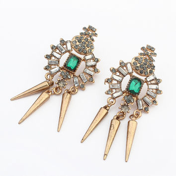Strong Character Stylish Fashion Earrings [4919101188]
