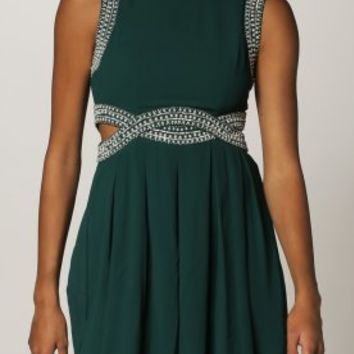 TFNC MALAGA - Cocktail dress / Party dress - green - Zalando.co.uk
