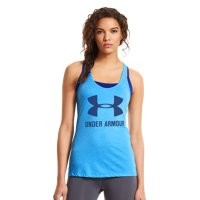Under Armour Women's Under Armour® Big Logo T-Back Tank