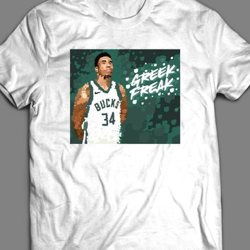 "GIANNIS ANTETOKOUNMPO ""GREEK FREAK"" T-SHIRT"