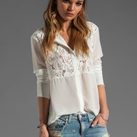 Pencey Block Blouse in White from REVOLVEclothing.com
