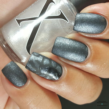 Diamante - Clear Silvery White Shimmer Topper