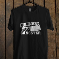 Culinary Gangster Chef prep Cook food T Shirt Mens T Shirt and Womens T Shirt *