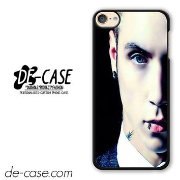 Andy Biersack Black Veil Brides Half Face DEAL-765 Apple Phonecase Cover For Ipod Touch 6
