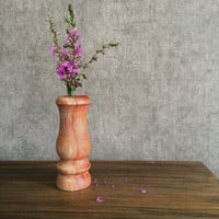 Wood Vase Hand-Crafted