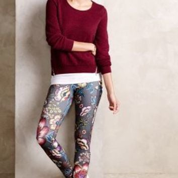 Pure + Good Florataupe Leggings