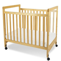 Foundations SafetyCraft Fixed-Side, Clearview Crib 1632040