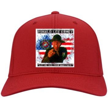 R Lee Ermey : Full Metal Jacket : Gunnery Sergeant Hartman 4: CP80 Port & Co. Twill Cap