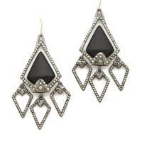 Santa Fe Deco Arrowhead Chandelier Earrings