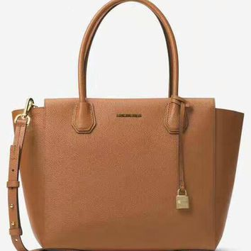 MCMAEL KORS Women Shopping Bag Leather Satchel Crossbody Handbag Shoulder Bag Brown G