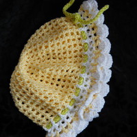 Crochet cotton hat, Pretty Childs Hat, Summer cotton hat,
