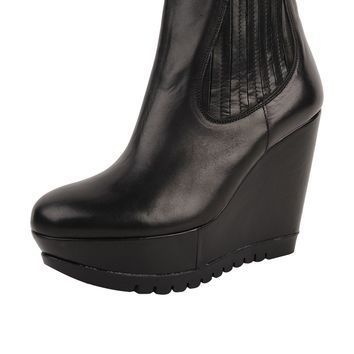 Formentini Platform Wedge Boot