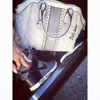 GUESS bag and nike with cradle on all numbers