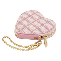 Q-pot.ONLINE SHOP / Strawberry Chocolate Heart Coin Case