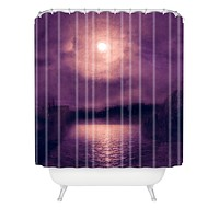 Viviana Gonzalez Purple Sunset Shower Curtain