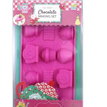 Handstand Kitchen Children's Tea Party Chocolate Making Set For Kids